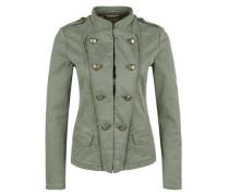 Jacke im Military-Style khaki