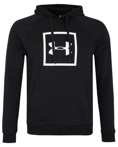 Sweatshirt 'Rival' schwarz / weiß