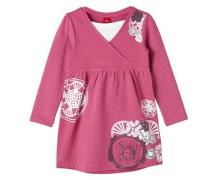 Bedrucktes Sweat-Kleid pink