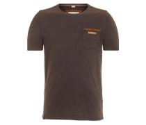 Male T-Shirt Suppenkasper VII braunmeliert
