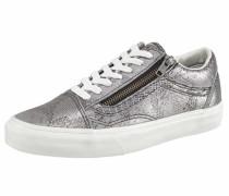 Sneaker »Old Skool Zip« silber