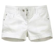 Jeansshorts für Mädchen weiß