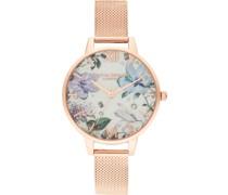 Uhr 'Bejewelled Florals'
