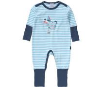 Baby Schlafanzug blau