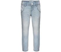 Slim Fit Jeans 'nitabay' hellblau