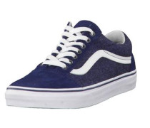 Sneaker Old Skool Suede & Suiting im Retro-Look