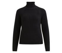 Pullover Strick schwarz