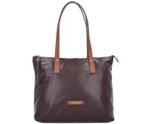 Calypso Shopper Tasche 43 cm braun