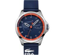 "Armbanduhr ""capbreton 2010842"" blau / orange / silber"