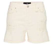 Jeans-Shorts 'Milena' weiß