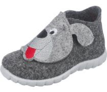 Baby Hausschuhe Happy für Jungen Weite M4 Hund
