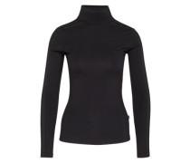 Sweatshirt mit Stehkragen schwarz