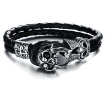 Armband mit Zirkonia 'Totenkopf'