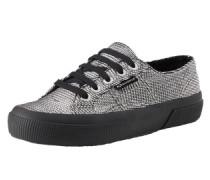 Sneaker 'Plisselamew' silber