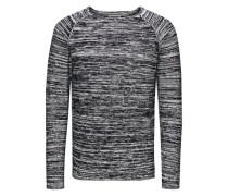 Pullover Raglanärmel grau