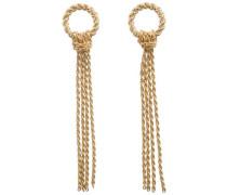 Lange Ohrringe gold