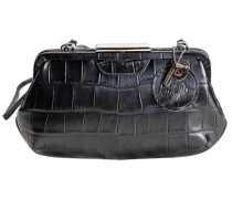 Auguri Damentasche Leder 26 cm schwarz