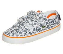 'Marcel Chunky Sneaker' Kleinkinder anthrazit / orange / weiß
