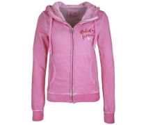 Kapuzensweatjacke Shelby Holidays pink
