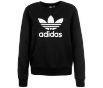 Sweater 'trefoil Crew' schwarz