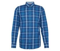 Slim-fit Hemd 'Einston' blau
