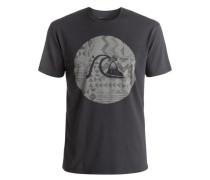 T-Shirt 'Garment Dye Circle Bubble' taupe