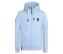 Male Zipped Jacket Birol IX blau