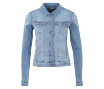 Jeansjacke 'Core' blau