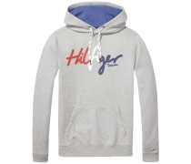 Sweatshirt 'thdm Basic Logo HD Hknit 12' grau