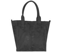 Anne Vintage Shopper Tasche 34 cm schwarz