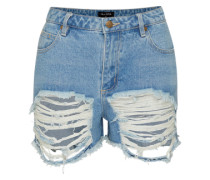 Shorts 'stardust' blau