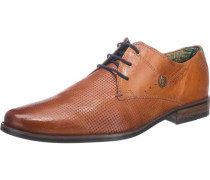 Business Schuhe cognac