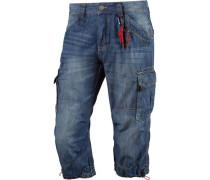 Miles 3/4-Jeans Herren blue denim