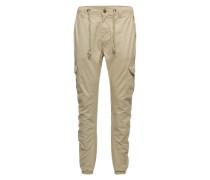Baumwollhose 'Cargo Jogging Pants' ecru