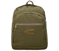 Rucksack mit gepolstertem Laptopfach khaki