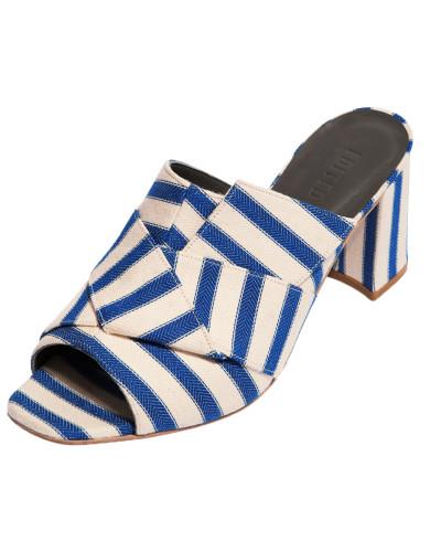Schuh 'Elle' blau / weiß