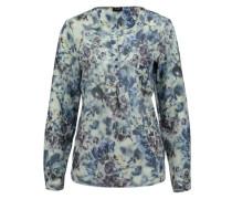 Bluse mit Blüten-Print 'Jolie' weiß