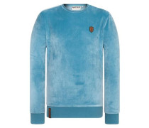 Male Sweatshirt blau