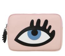 Clutch 'Power Purse Blue Eye' rosa