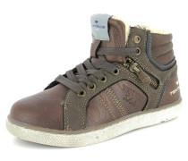 Sneaker Synthetik braun