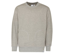 Sweatshirt 'X by O Crew' graumeliert