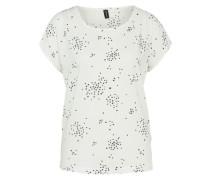 T-Shirt 'cate' schwarz / weiß
