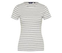 Shirt 'striped Rib' grau / mischfarben