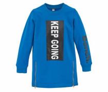 Longsweatshirt royalblau / schwarz