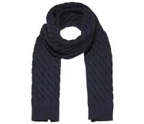 Strick-Schal ultramarinblau