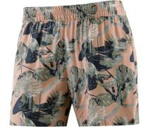 Shorts grün / apricot