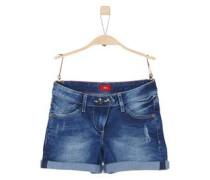 Super stretchige Denim-Shorts blue denim / dunkelblau