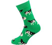 Socken 'Ying Yang Cow'