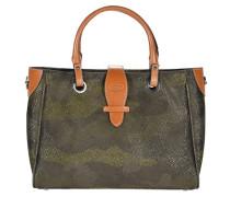 Shopper Tasche 31 cm grün