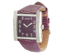 Armbanduhr Sobriety Ladies Jp100592F02 beere / silber